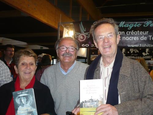 Avec Joëlle Brunerie-Kauffmann et Jean-Paul Kauffmann.
